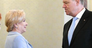 Dăncilă anunță că depune plângere penală împotriva lui Iohannis