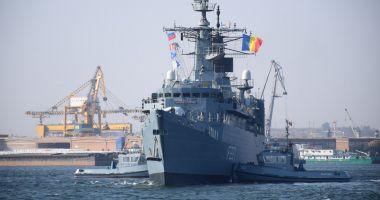 Ceremonie în Portul Constanța: România a preluat comanda!