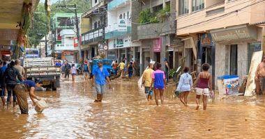 DEZASTRU ÎN BRAZILIA: record de precipitații și zeci de victime ale alunecărilor de teren