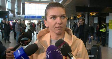 Simona Halep a revenit în țară. În vizor: turneele de la Dubai și Doha