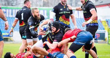 """Rugby / """"Stejarii"""" au surclasat Spania, în etapa a treia din REC"""