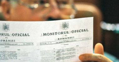 Hotărârea privind starea de urgență, publicată în Monitorul Oficial