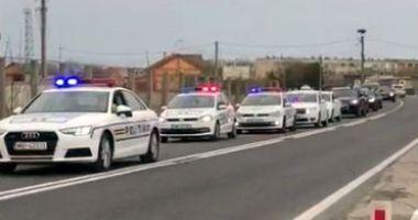 VIDEO / Acțiune a Poliției pe raza orașului Hârșova