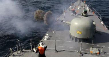 Rusia a întreprins exerciții de război pe Marea Neagră