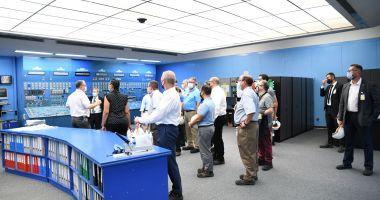 Delegaţie americană în vizită de lucru la SN Nuclearelectrica