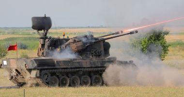 Detașamentul de militari care va pleca în misiune în Polonia, evaluat la Capu Midia