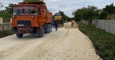 Drumul judeţean 393, de la Techirghiol până la frontiera cu Bulgaria, va fi gata la finele lui noiembrie