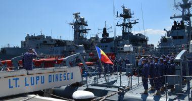"""Dragorul maritim """"Locotenent Lupu Dinescu"""" execută misiuni NATO în bazinul Mării Negre"""