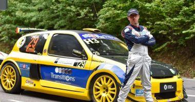 Emil Ghinea, în fața unui nou sezon al Campionatului Național de Super Rally