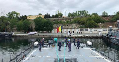 Exerciții comune româno-ucrainene în Marea Neagră