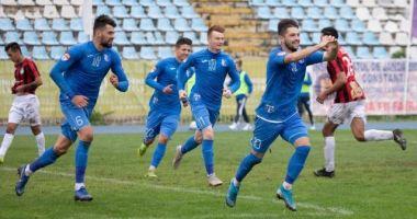 Liga 2 / FC Farul a învins cu 5-0 Pandurii și a urcat pe locul trei