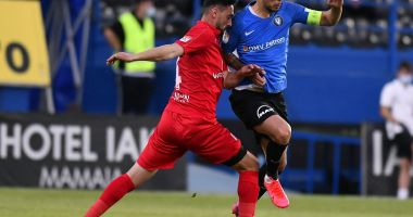 FC Viitorul, spectacol în partida cu Hermannstadt