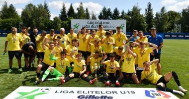 FC Viitorul U19, campioană pentru a opta oară în ultimii nouă ani