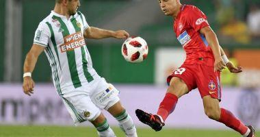 Fotbal/ Rapid Viena - FCSB 3-1. Gnohere a redus din diferență, dar Schwab a marcat imediat pentru 3-1