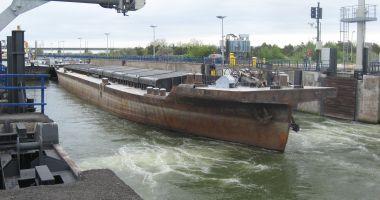 Salt spectaculos al traficului de mărfuri pe Canalul Dunăre - Marea Neagră