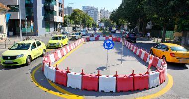 La loc comanda! Sensul giratoriu de lângă Poliția Constanța, desființat!