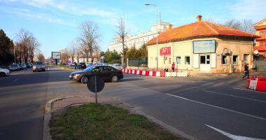 De ce a apărut un sens giratoriu în apropierea Poliției Constanța!
