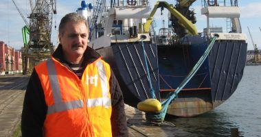 """Foto - Situație disperată pe nava """"Janay"""", abandonată în portul Midia!"""