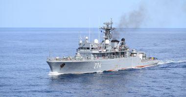 Forţele Navale Române, în misiune de securitate în Marea Mediterană