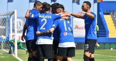 FC Viitorul, victorie la pas în partida cu Academica