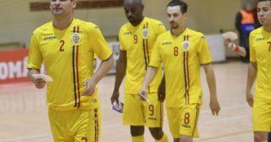 """Futsal / """"Dubla"""" amicală România - Franța, în direct la PRO X"""