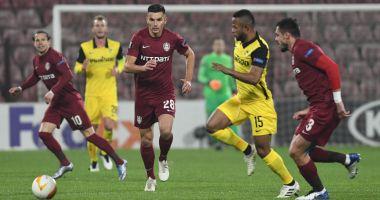 Fotbal, Europa League / CFR Cluj, remiză în duelul cu Young Boys Berna