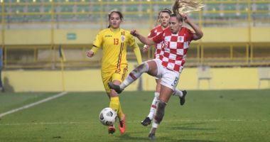 Fotbal feminin / Tricolorele, victorie în partida cu Croaţia, din preliminariile WEURO 2022