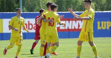 Fotbal / Naţionala U16, victorie în amicalul cu Moldova. Golul doi, marcat de un jucător al Viitorului