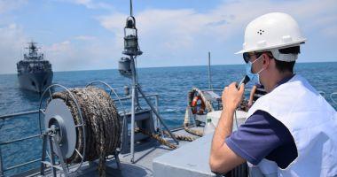 Misiune îndeplinită! Tragerile de luptă și acțiunile de instruire pe Marea Neagră, la final