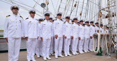 """Tradiție în învățământul militar postliceal de marină. Școala """"Amiral Ion Murgescu"""" a împlinit 122 de ani"""