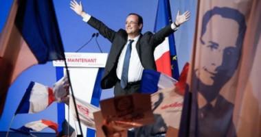 ALEGERI FRANȚA Exit-poll: Francois Hollande a câștigat primul tur de scrutin. Sarkozy pe doi