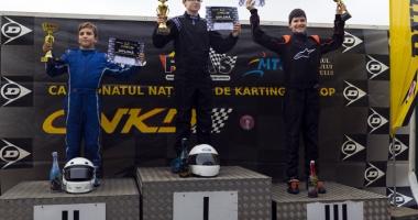 Frații Onoaie au încheiat pe podium Campionatul Național de karting