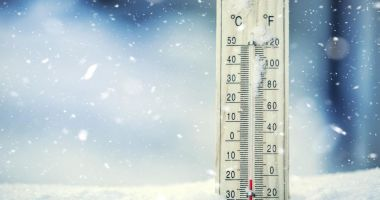 Record negativ de temperatură noaptea trecută, în România: -21,5 grade Celsius