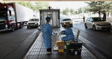Coronavirus: 61 de cetățeni români au fost testați pozitiv pentru COVID-19 la intrarea în Grecia
