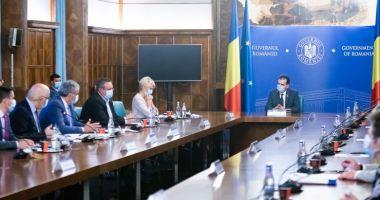 Guvernul discută schema de ajutor de stat pentru sectorul HORECA