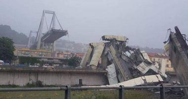 Un pod-autostradă, înalt de 100 de metri, s-a prăbușit în Genova.  Autoritățile încearcă să găsească eventuali supraviețuitori