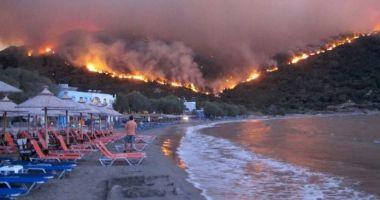 Atenționare MAE pentru românii care merg în Grecia. Există risc ridicat de incendii