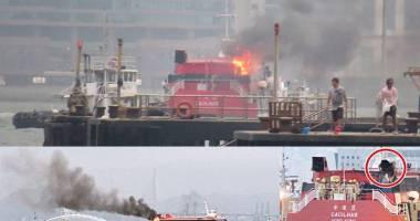 Incendiu la bordul unui ferry-boat cu 100 de pasageri