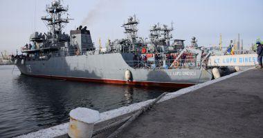Instrucţie pe mare, pe fluviu, în teren şi în aer, cu structurile Forţelor Navale Române