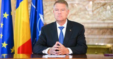 Președintele Klaus Iohannis, declarație de presă la ora 14.00