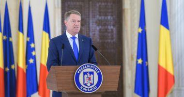 """Președintele Iohannis: Noul ministru al sănătății """"să acționeze eficient și să comunice constant"""""""