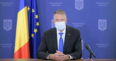 Klaus Iohannis susţine că, prin carantinarea localităţilor, pandemia este ţinută sub control