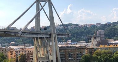 Italia a comemorat un an de la prăbușirea podului de la Genova
