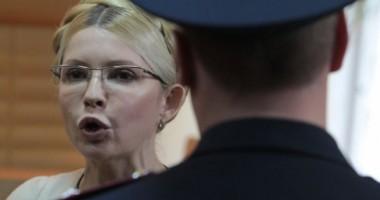 Starea Iuliei Timoșenko, aflată în greva foamei, s-a agravat