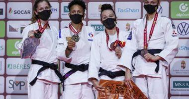 Judo / Andreea Chiţu, prima medalie pentru România în vremuri de pandemie