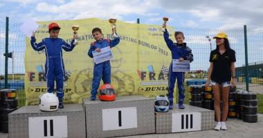 Glorie șlefuită din pasiune și ambiție pentru piloții constănțeni de karting