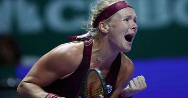 Tenis, Turneul Campioanelor / Kiki Bertens, în semifinale după ce Naomi Osaka s-a retras
