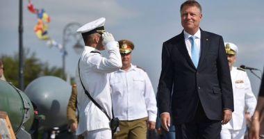 Klaus Iohannis, la Constanța: La început, România a primit securitate de la NATO. Acum este și un furnizor de securitate