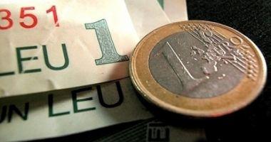Euro ciupește din leu. Iată cotația zilei