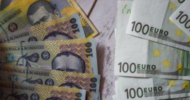 Euro a câștigat 0,05% în lupta cu leul
